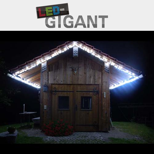 led lichterkette 2 5m farbe w hlbar au enbeleuchtung. Black Bedroom Furniture Sets. Home Design Ideas